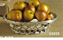 Dessau Home Aluminum Trimmed Oval Basket 9