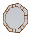 Dessau Home Antiqued Gold Octagonal Wall Mirror