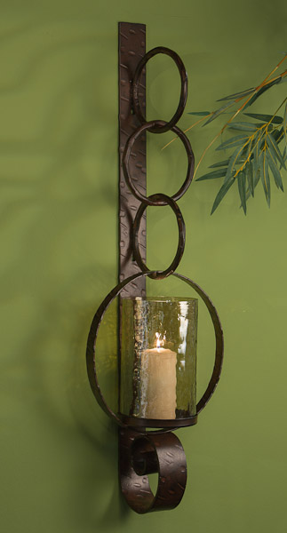 Bronze Ring Wall Sconce Home Decor