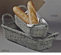 Dessau Home Large Aluminum Basket Rectangular