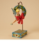 Disney Tinkerbell with Wreath Hanging Figurine