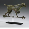 Dog Pointing Metal Sculpture by Cyan Design