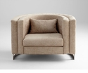 Donatello Beige Designer Chair by Cyan Design