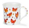 Dunoon Bute Animals Galore Chicken Mug