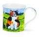 Dunoon Bute Comical Cats Tortoise Shell Mug