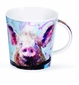Dunoon Cairngorm Animals in Art Mug - Pig