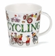 Dunoon Cairngorm Sporting Antics Cyclist Mug  (16.2 oz)