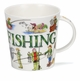 Dunoon Cairngorm Sporting Antics Fishing  Mug (16.2 oz)