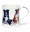 Dunoon Collies Mug - 10 oz