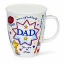 Dunoon Dad Father's Day Gift Mug 16.2oz.