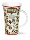 Dunoon Glencoe Greek Alphabet Mug