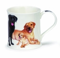 Dunoon Labrador Retrievers Mug - 10oz.