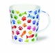 Dunoon Lomond Cat Paw Prints Mug