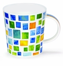Dunoon Lomond Piazza Green Mug