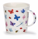 Dunoon Mug Butterflies, Bugs and Bees Mug (10.8 Oz)