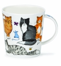 Dunoon Mug - Cat Lover Mug 10.8 Oz.