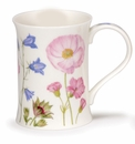 Dunoon Mug Flower Border Mug No. 1 Poppy (11.1 Oz.)