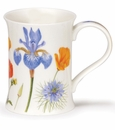 Dunoon Mug Flower Border Mug No. 2 Iris (11.1 Oz.)