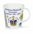 Dunoon Mug - HM Queen Coronation Mug with Gift Box 16.2 Oz.