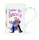Dunoon Mug - How to Dance Mug 11.1 Oz.
