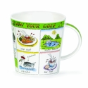 Dunoon Mug - Know Your Golf Mug 16.2 Oz.