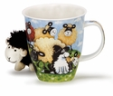 Dunoon Mug Silly Sheep Group Mug (16.2 Oz)