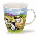 Dunoon Mug Silly Sheep Mug Fence (16.2 Oz)