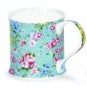Dunoon Mug - Staffordshire Chintz Blue 10 Oz.