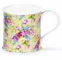 Dunoon Mug - Staffordshire Chintz Yellow 10 Oz.