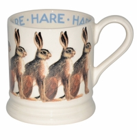 Emma Bridgewater Animals Hare 1/2 Pint Mug