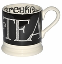 Emma Bridgewater Black Toast Hatch 1/2 Pint Mug