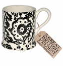 Emma Bridgewater Black Wallpaper 1/2 Pint Mug