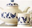 Emma Bridgewater Blue Hen & Border Collection