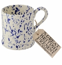 Emma Bridgewater Blue Splatter 1/2 Pint Mug