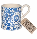 Emma Bridgewater Blue Wallpaper 1/2 Pint Mug