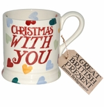 Emma Bridgewater Christmas with You 1/2 Pint Mug