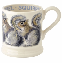 Emma Bridgewater Grey Squirrel Half Pint Mug