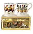 Emma Bridgewater Hens Half Pint Mugs (Set of 2)