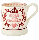 Emma Bridgewater Hooray for Princess Charlotte Mug