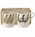 Emma Bridgewater Partridge/Pheasant Set/2 Mugs