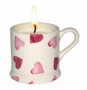 Emma Bridgewater Pink Hearts Filled Mini Mug