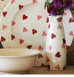 Emma Bridgewater Pink Hearts & Wallpaper Collection