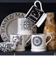 Emma Bridgewater Pottery Black Toast & Marmalade Collection