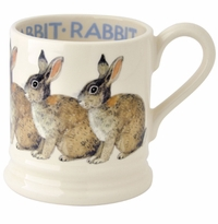 Emma Bridgewater Rabbit Half Pint Mug