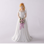 Enesco Growing Up Girls Blonde Bride Figurine