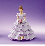 Enesco Growing Up Girls Quincenera Figurine