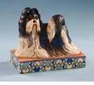 "Enesco Jim Shore ""Ming"" Shih Tzu Figurine"