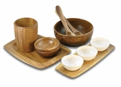 Enrico Acacia Wood Serveware Collection