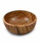 Enrico Natural Acacia Wood Honeycomb Salad Bowl