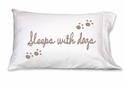 Faceplant Sleeps With Dogs Standard Pillow Case Pair